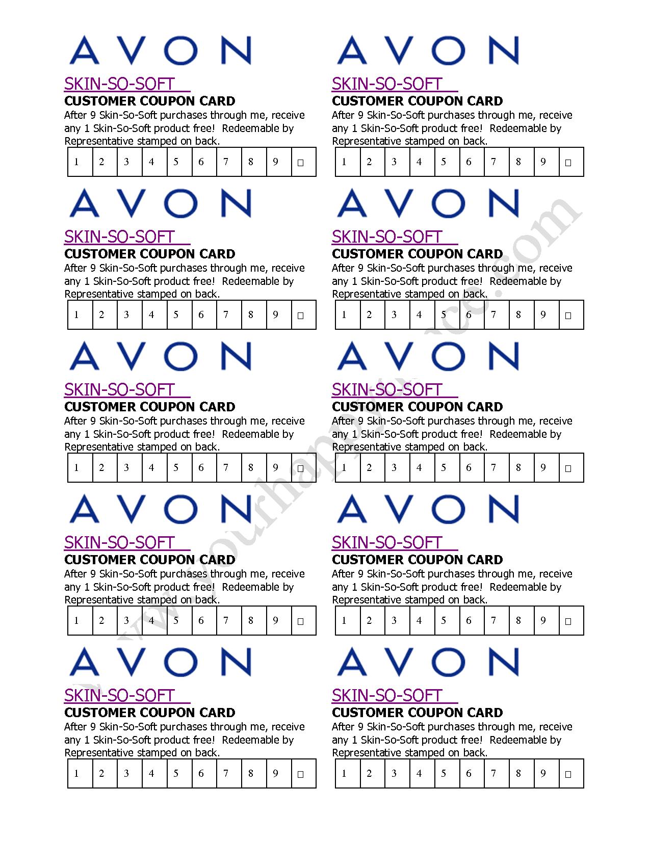 Avon coupon code september 2018