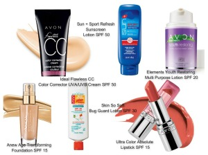 Avon Sunscreen Options